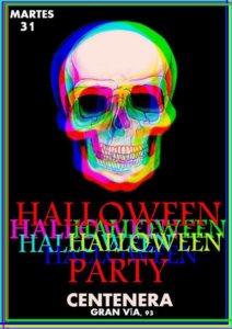 Halloween Party Centenera Salamanca Octubre 2017