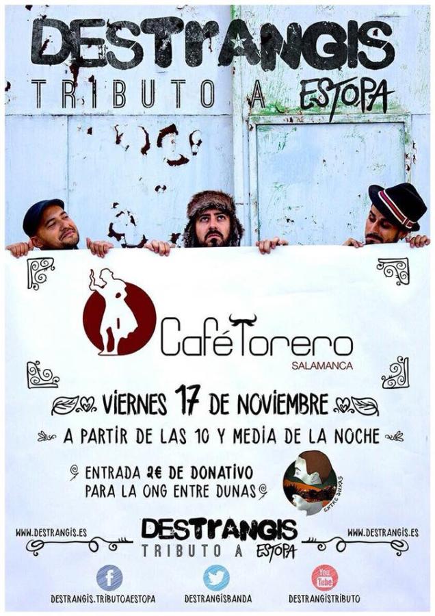 Destrangis Sala Torero Salamanca Noviembre 2017