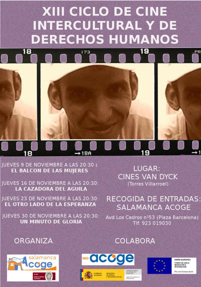 XIII Ciclo de Cine Intercultural y de Derechos Humanos Salamanca Acoge Noviembre 2017