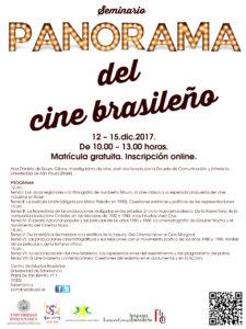 Seminario Panorama del cine brasileño Centro de Estudios Brasileños Salamanca Diciembre 2017