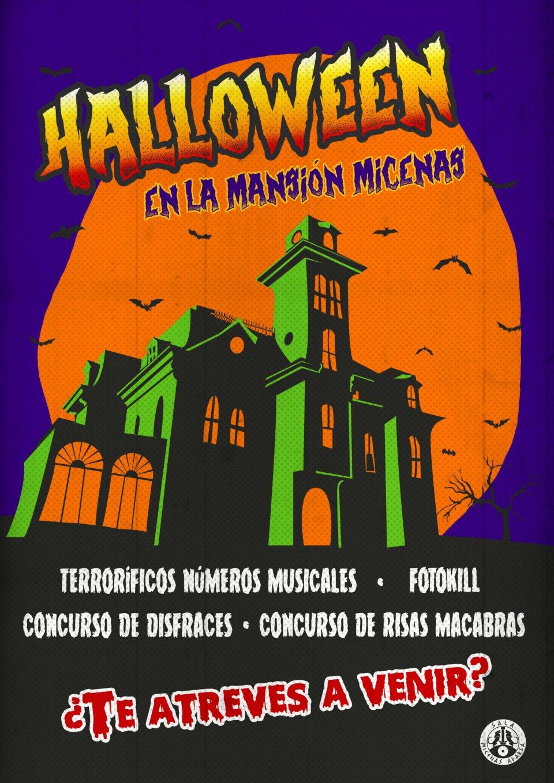 Halloween Sala Micenas Adarsa Salamanca Octubre 2017