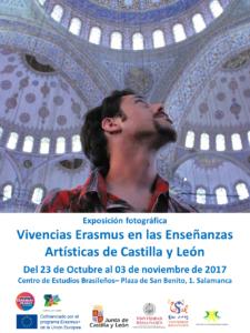 Centro de Estudios Brasileños Vivencias Erasmus en las Enseñanzas Artísticas de Castilla y León Salamanca 2017