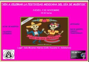 Día de los Muertos Sala Micenas Adarsa Salamanca Noviembre 2017