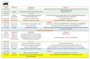 Programa I Foro Internacional del Ibérico Palacio de Congresos y Exposiciones Salamanca Noviembre 2017