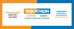 Trocathlon Decathlon Salamanca Octubre noviembre 2017