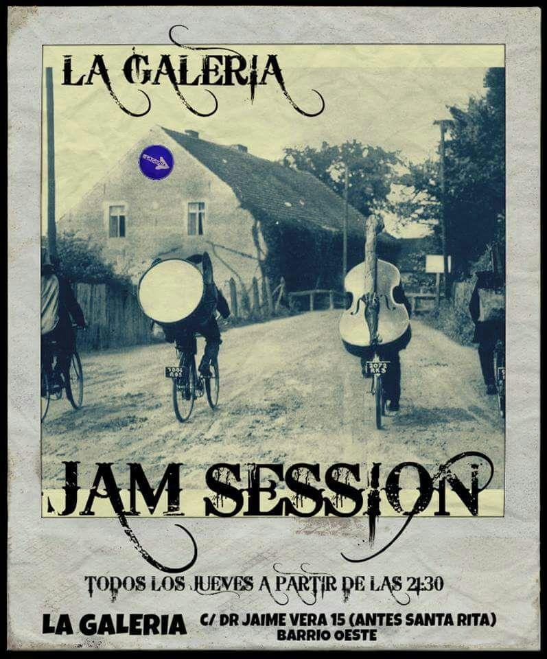 Jam Session La Galería Salamanca 2017-2018
