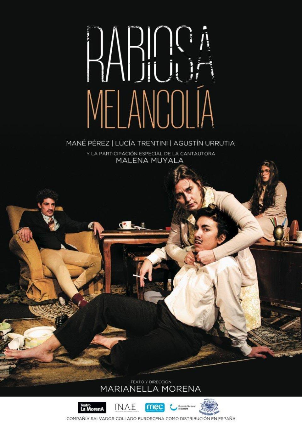 Aula Teatro Juan del Enzina Rabiosa melancolía Universidad de Salamanca Octubre 2017
