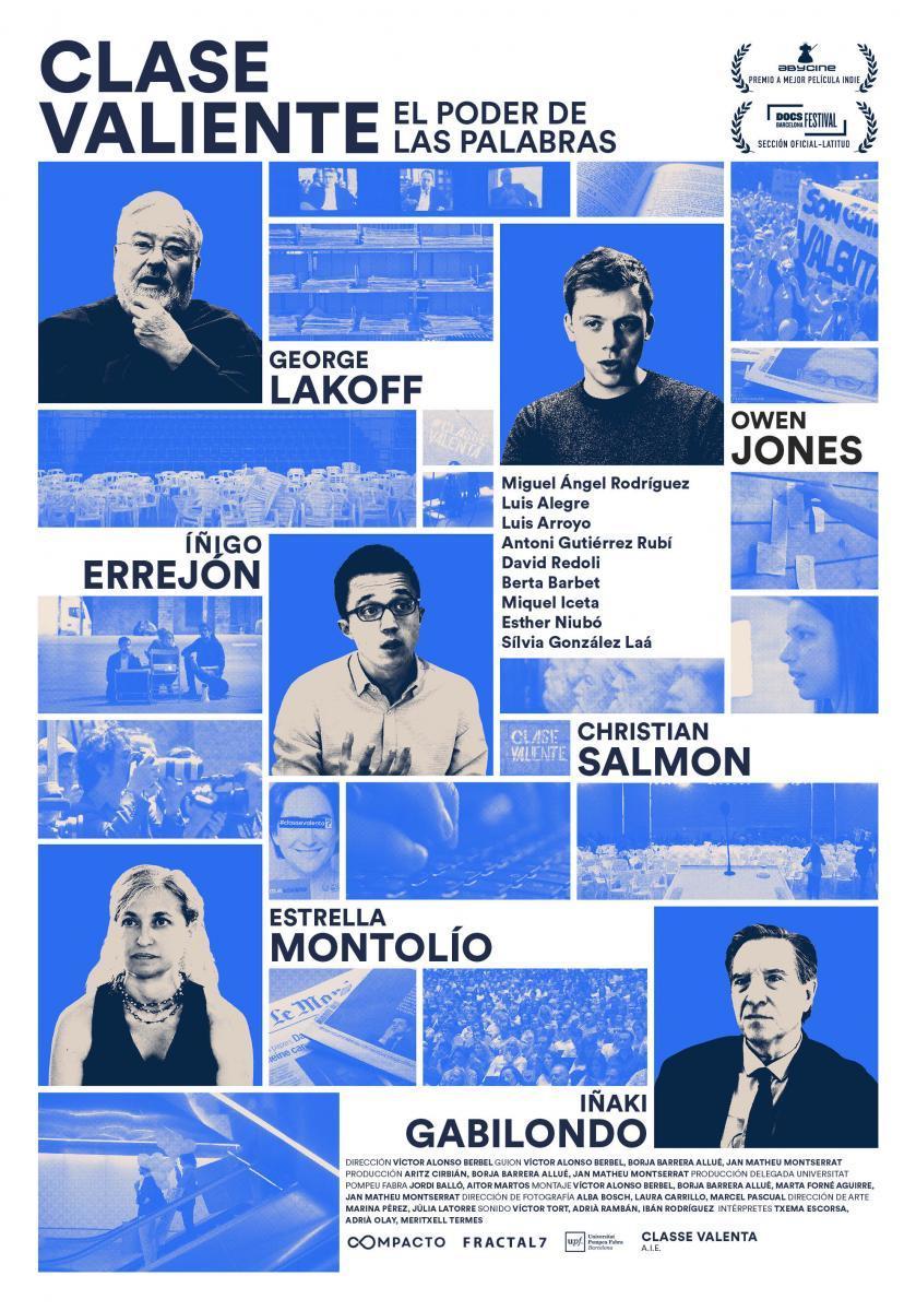 Clase valiente Ciclo de cine Documental Aula Teatro Juan del Enzina Universidad de Salamanca Octubre 2017