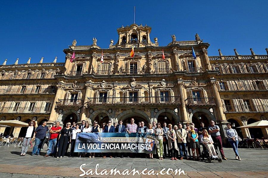 Concentración por la Última Víctima de Violencia Machista Salamanca