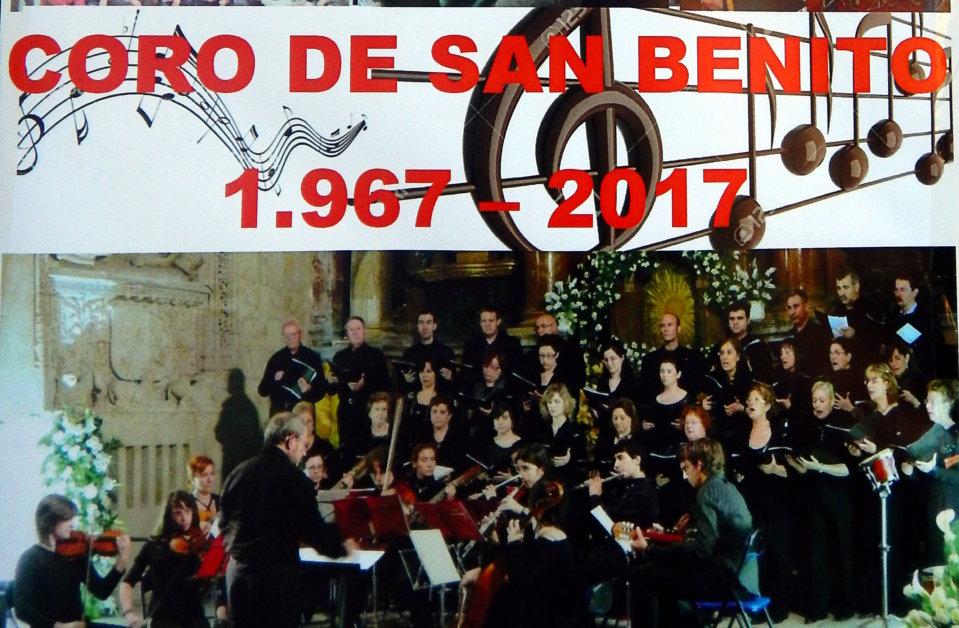 Coro San Benito L Aniversario Teatro EspañaDuero Salamanca Octubre 2017