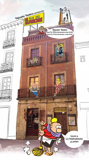 La Malhablada Salamanca Noviembre 2017 13 Rue del Percebe