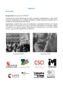 Ciclo de Cine Los documentales de la Italia fascista sobre la Guerra Civil Española (1936-1939) Filmoteca de Castilla y León Salamanca Octubre 2017