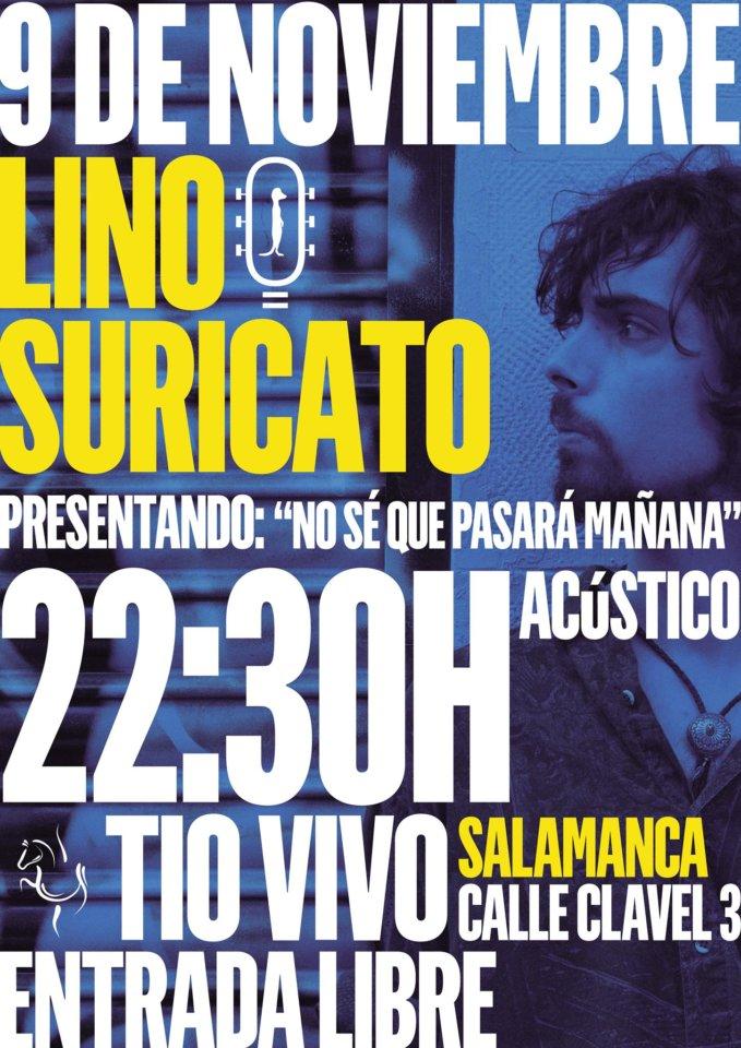 Lino Suricato Tío Vivo Salamanca Noviembre 2017