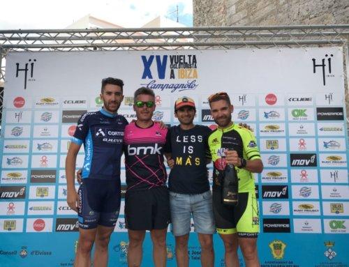 El ciclista bejarano Moisés Dueñas triunfa en la Vuelta a Ibiza.