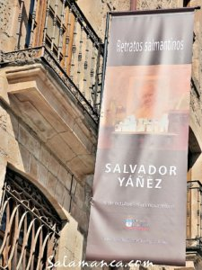 Salvador Yáñez Retratos salmantinos La Salina Salamanca Octubre y noviembre 2017
