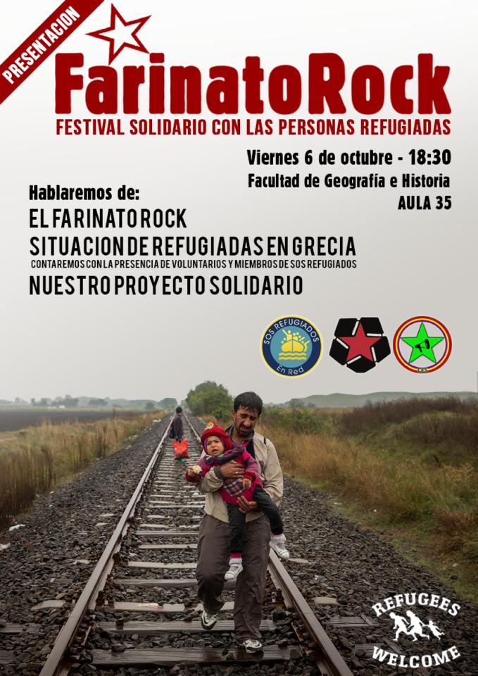 XXIII Festival Farinato Rock CEA CES Salamanca Octubre 2017