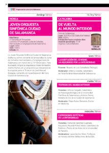 CAEM Joven Orquesta Sinfónica Ciudad de Salamanca Noviembre 2017