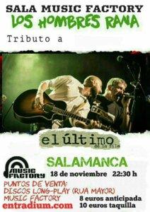 Los Hombres Rana Music Factory Salamanca Noviembre 2017