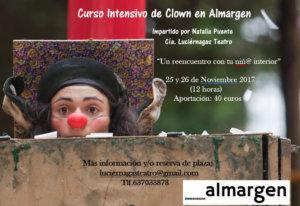 Espacio __Almargen Curso Intensivo de Clown Salamanca Noviembre 2017