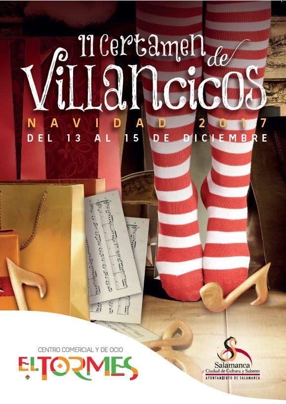 Centro Comercial El Tormes II Certamen de Villancicos de Navidad Santa Marta de Tormes Diciembre 2017