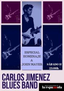 La Espannola Carlos Jiménez Blues Band Salamanca Noviembre 2017