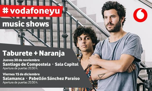 Sánchez Paraíso Taburete + Naranja Salamanca Diciembre 2017