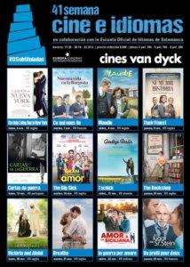 Cines Van Dyck XLI Semana Cine e idiomas Salamanca Noviembre 2017