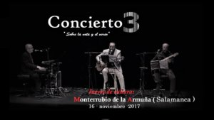 Concierto 3 Sobre la nota y el verso Monterrubio de Armuña Noviembre 2017