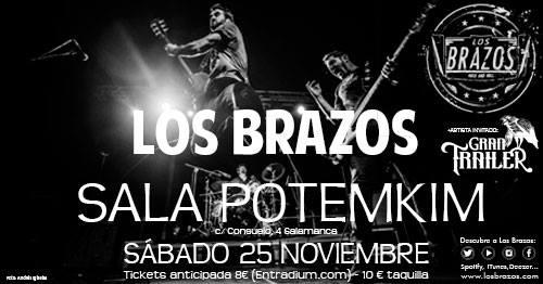 Potemkim Los Brazos + Gran Tráiler Salamanca Noviembre 2017
