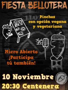 Centenera Fiesta Bellotera Salamanca Noviembre 2017