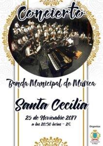 Banda Municipal de Música Concierto de Santa Cecilia Teatro Cervantes Béjar Noviembre 2017