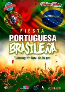 The Irish Theatre Fiesta Brasileña & Portuguesa Salamanca Noviembre 2017