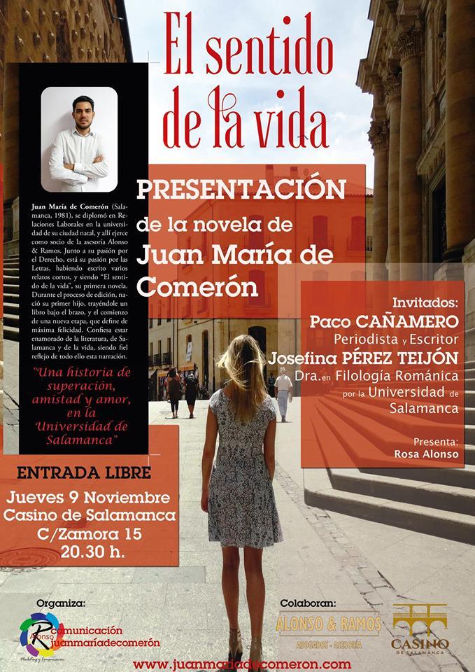 Casino de Salamanca El sentido de la vida Noviembre 2017