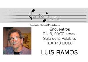 Luis Ramos Pentadrama Salamanca Noviembre 2017