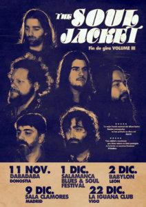 The Soul Jacket CAEM Salamanca Blues & Soul Festival Conciertos Sala B Diciembre 2017