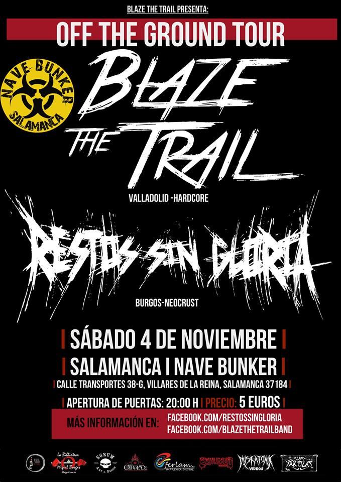 Nave Bunker Blaze the Trail + Restos sin Gloria Villares Noviembre 2017