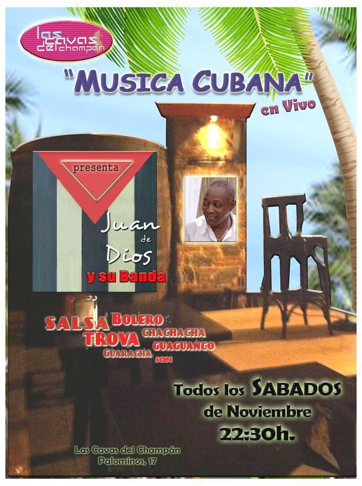 Las Cavas del Champán Juan de Dios y su Banda Salamanca Noviembre 2017