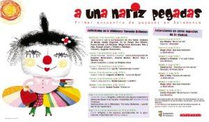 I Encuentro de Payasas en Salamanca A una nariz pegadas Diciembre 2017