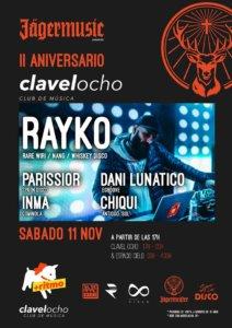 Clavel Ocho II Aniversario Salamanca Noviembre 2017