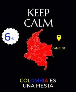 Camelot Fiesta de Colombia Salamanca Noviembre 2017
