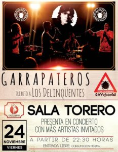 Sala Torero Garrapateros Salamanca Noviembre 2017