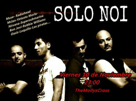 The Molly's Cross Solo Noi Salamanca Noviembre 2017