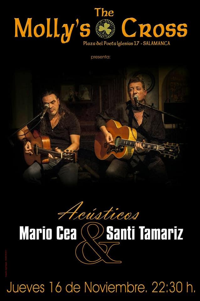 The Molly's Cross Mario Cea & Santi Tamariz Salamanca Noviembre 2017