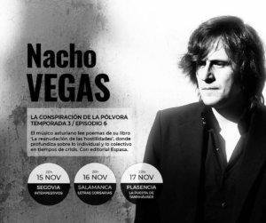 Letras Corsarias Nacho Vegas La reanudación de las hostilidades Salamanca Noviembre 2017