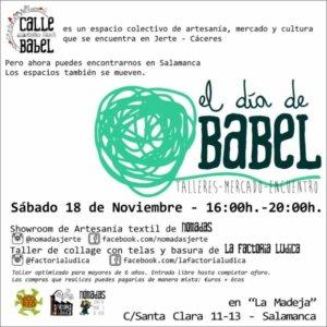 La Madeja El Día de Babel Salamanca Noviembre 2017