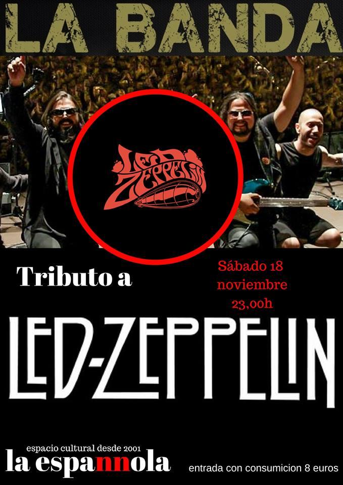 La Espannola La Banda Tributo a Led Zeppelin Salamanca Noviembre 2017