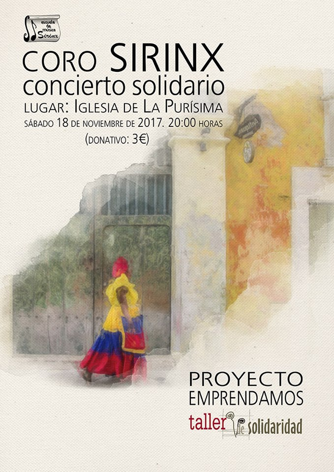 Iglesia de la Purísima Coro Sirinx Salamanca Noviembre 2017