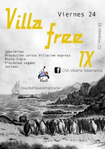 CSA Villafría Villa Free IX Salamanca Noviembre 2017