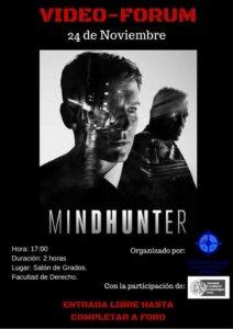 Facultad de Derecho Mindhunter Salamanca Noviembre 2017