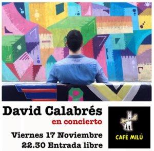 Café Milú David Calabrés Salamanca Noviembre 2017